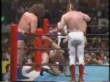Andre the Giant, Big John Studd & El Canek vs Antonio Inoki, Seiji Sakaguchi & Kengo Kimura