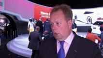 Interview with Andy Palmer, Nissan, from Frankfurt, 2013