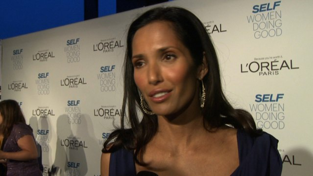 Padma Lakshmi Suffered Through Illness And Helps Others