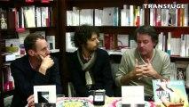 Une rencontre avec Yannick Haenel et Thomas Clerc animée par Damien Aubel du magazine TRANSFUGE