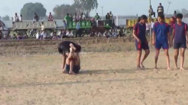 Best Catch 01 - FreeStyle Girls Kabaddi Tournament 2013 Match 10