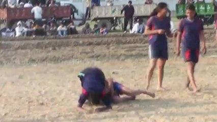 Best Catch 20 - FreeStyle Girls Kabaddi Tournament 2013 Match 10