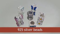 Silver Beads wholesale from Thailand manufacturer. Bracelets with beads.