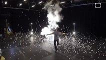 Faire exploser de l'azote liquide et des balles de ping pong en Slow Motion!!