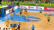 EuroBasket - L'Ukraine en quarts malgré la défaite