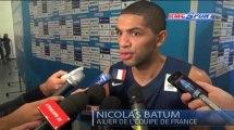 """Euro de Basket / Batum : """"Pas assez agressif"""" - 15/09"""