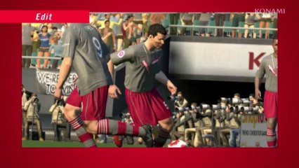Edit Mode Trailer de Pro Evolution Soccer 2013