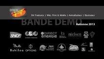 Bande Démo Automne 2013 / Directeur artistique freelance / flash, illustrations, animation, montage