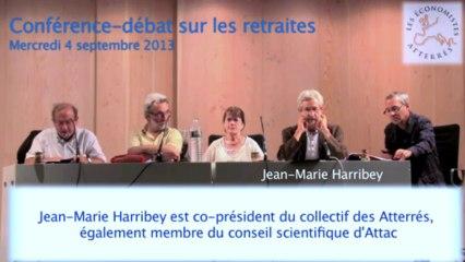 Conférence-débat sur les retraites 1/5 - Séminaire #1