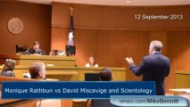 Monique Rathbun vs David Miscavige and Scientology | Ray Jeffrey Opening Statement