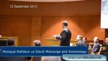 Monique Rathbun vs David Miscavige and Scientology | Lamont A Jefferson Opening Statement