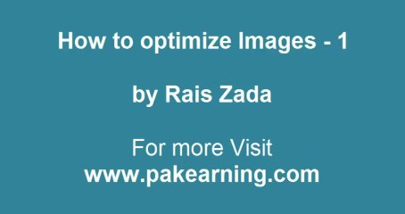 Part -1: How to Find and Optimize Images for SEO