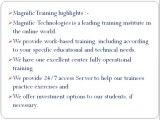 SAP ENTERPRISE PROTAL ONLINE TRAINING PUNE | MAGNIFIC TRAINING
