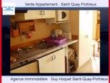 Achat Vente Appartement Saint Quay Portrieux 22410 - 28 m2