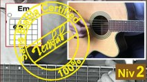 Mistral gagnant - Renaud [Tuto Guitare] by Terafab