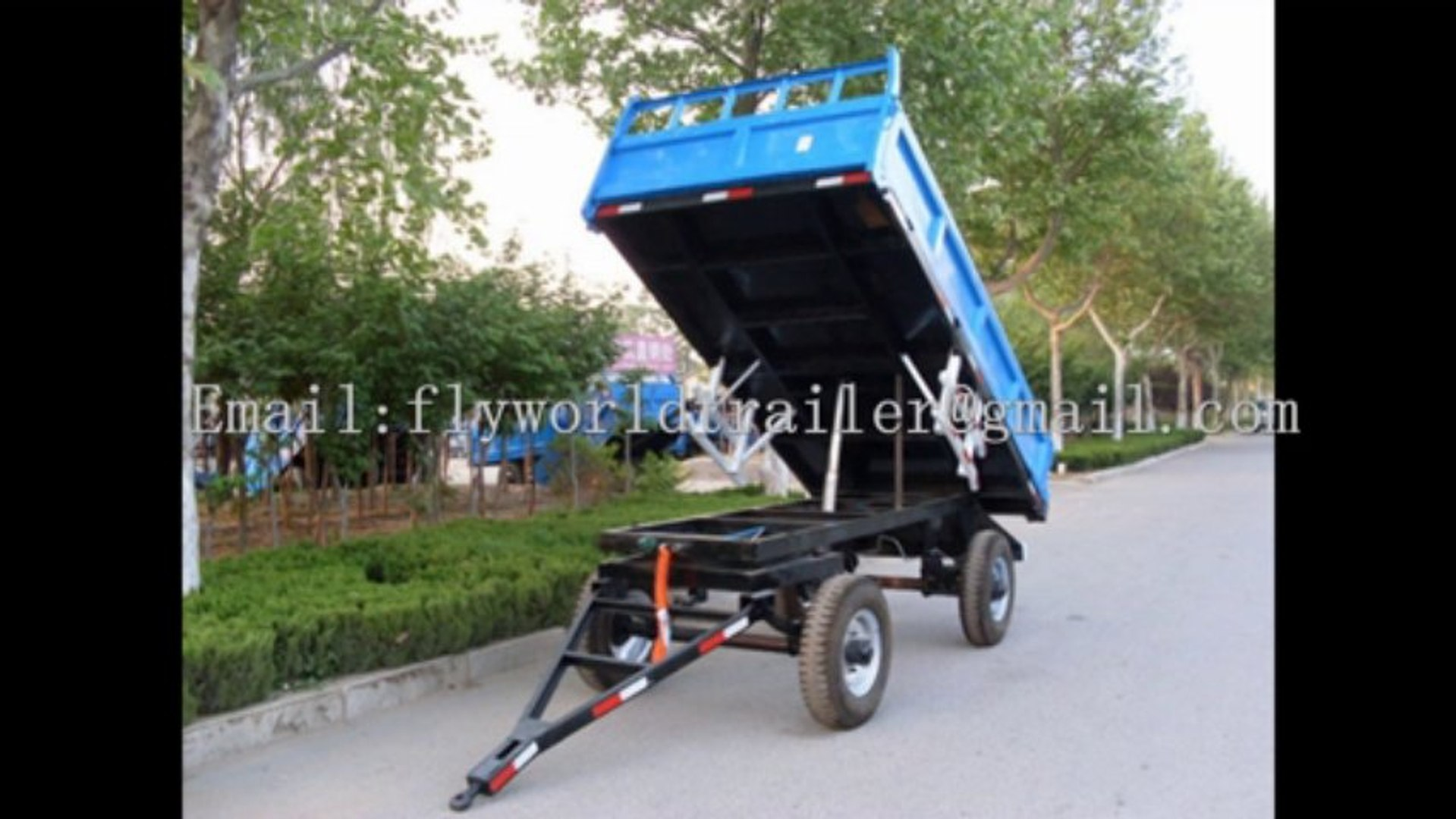 Trailer and trailer accessories china supplier (accept OEM/ODM) (container trailer)