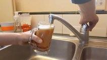 Blague : De la bière au robinet Blague