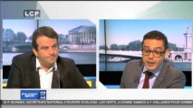 Politique matin sur LCP : Thierry Solère débat avec Razzy Hammadi