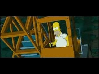 Simpsons trailer
