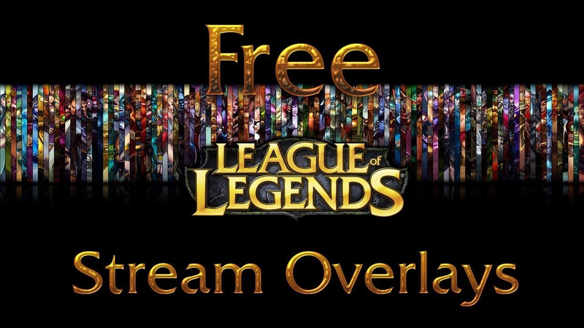 Free LoL Razer Themed UI Overlay (Download in Description)