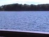 Ferry ride on Lake Champlain Burlington Vermont