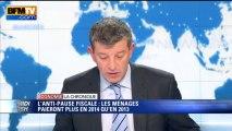Chronique éco de Nicolas Doze: les ménages paieront plus d'impôts en 2014 - 18/09