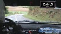 Damien Japiot (106 F2000/13) Rallye Hautes-Côtes 2013 ES 5