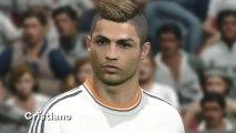 PES 2014 : les visages des stars du foot