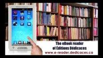La liseuse numérique des Éditions Dédicaces sur le réseau ABC, aux États-Unis