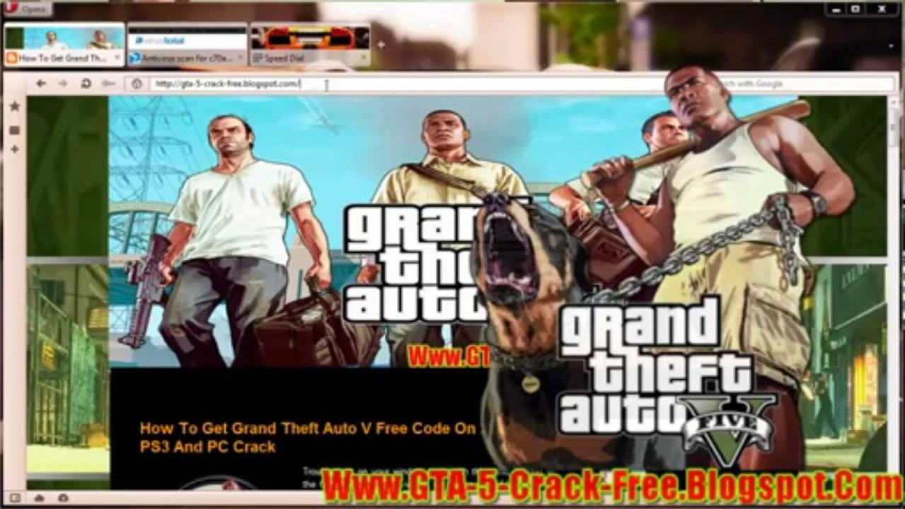 Grand Theft Auto 5 Free Redeem Code On Xbox360/PS3