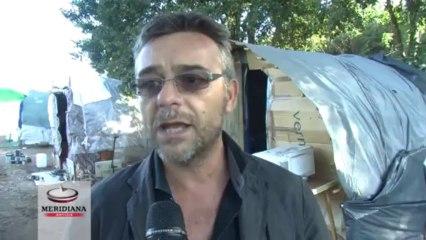Altro sgombero di rom a Fonte Laurentina, rimosse 20 baracche MER