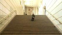 Vue sur les marches : Saburo Teshigawara
