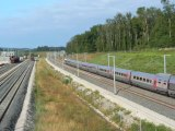 TGV Pos 4410 à Geneuille sur la LGV RR