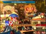Khairatabad Ganesh immersion begins
