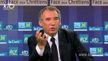 """François Bayrou - """"La France doit garantir les droits des chrétiens au Proche-Orient"""""""