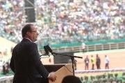 Discours du président de la République au Stade du 26 mars à Bamako