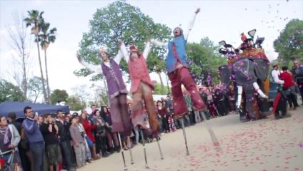 Todo Zancos-Bangaluru Fira de la terra 2013