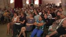 Elections Municipales : lancement de campagne pour le candidat à l'investiture PS M. Delafosse