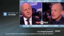 Zapping TV : Laurent Fabius très embêté par une question de Jean-Michel Aphatie