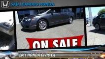2011 HONDA CIVIC EX - San Leandro Honda, Hayward Oakland Bay Area