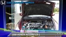 2008 HONDA ACCORD EX-L - San Leandro Honda, Hayward Oakland Bay Area