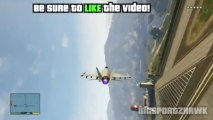 GTA 5 - How To Get Ultimate Fighter Jet: P-996 Lazer Fighter Jet Gameplay (GTA V Jets)