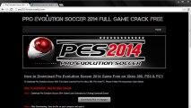Pro Evolution Soccer PES 2014 Crack Giveway Free Serials/Codes Download