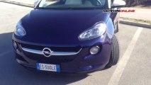 Opel Adam 1.4 GPL Tech, primo contatto