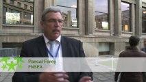 Conférence environnementale : Itw de Pascal Ferey de la Fédération nationale des syndicats d'exploitants agricoles