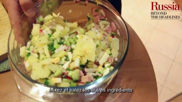 Délicieuse Russie : l'okrochka, soupe froide à base de kvass