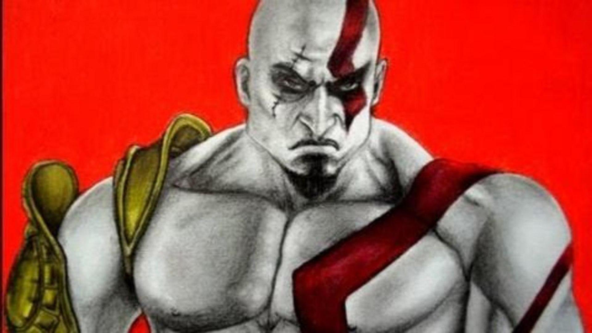 Como Dibujar A Kratos De God Of War Video Dailymotion
