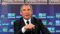 François Bayrou, invité de Face aux Chrétiens sur KTOTV - 190913