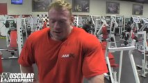 DENNIS WOLF - CHEST WORKOUT  3 WEEKS TO 2013 MR OLYMPIA