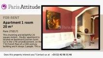 Studio Apartment for rent - Porte Maillot/Palais des Congrès, Paris - Ref. 8950